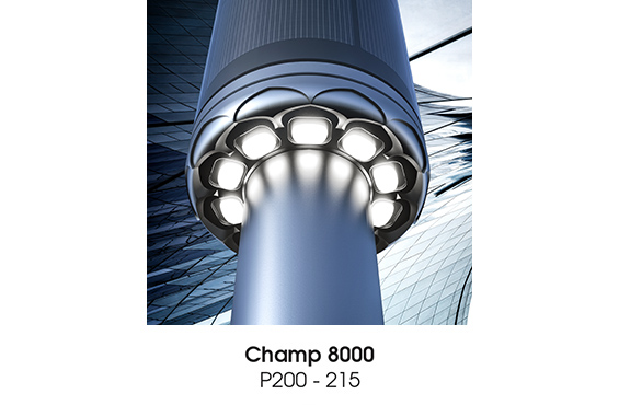 Champ 8000 Solar Light Poles